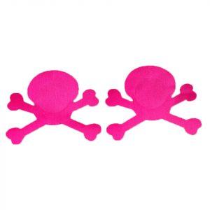 Skull Nipple Pasties - Skull Nipple Pasties Skull Nipple Covers Punk Nipple Stickers