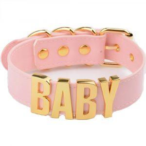 Baby Choker - Womens Harajuku Baby Choker Punk Collar Goth Necklace