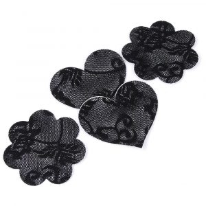 Lace Pasties - Womens Festival Lace Pasties Lace Nipple Pasties Fetish Nipple Covers Lace Breast Petals
