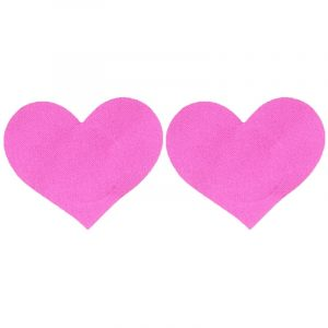 Heart Pasties - Rave Festival Heart Pasties Nipple Stickers Love Heart Breast Petals Disposable Nipple Covers