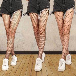 Black Fishnet Tights - Womens Punk Festival Black Fishnet Stockings Black Fishnet Tights Fishnets