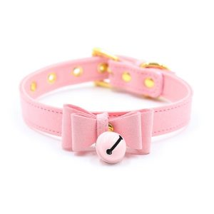 Bell Choker - Womens Harajuku Bell Choker Bondage Collar Cat Bell Choker Necklace