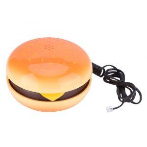 Hamburger Phone - Hamburger Phone Novelty Hamburger Telephone Landline Phone