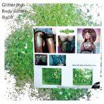 Light Green Glitter - Chunky Lime Green Glitter Festival Light Green Glitter